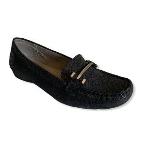 Naturalizer Comfort sole Faux snake skin Loafers